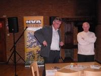 Arnaud Carpentier (links) en Ivo Coninx van N-VA Genk, onze buren
