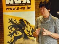Frieda Brepoels praat met deskundigheid over Europa