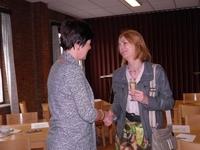 Frieda Brepoels is blij Marijke Bergen terug te zien